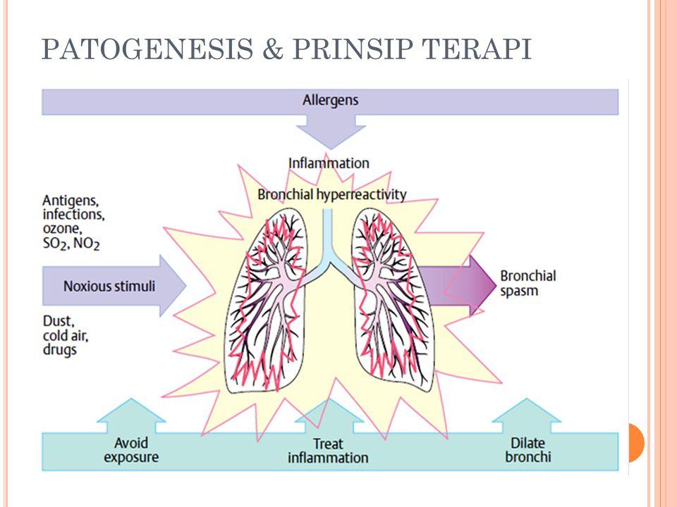 PATOGENESIS & PRINSIP TERAPI