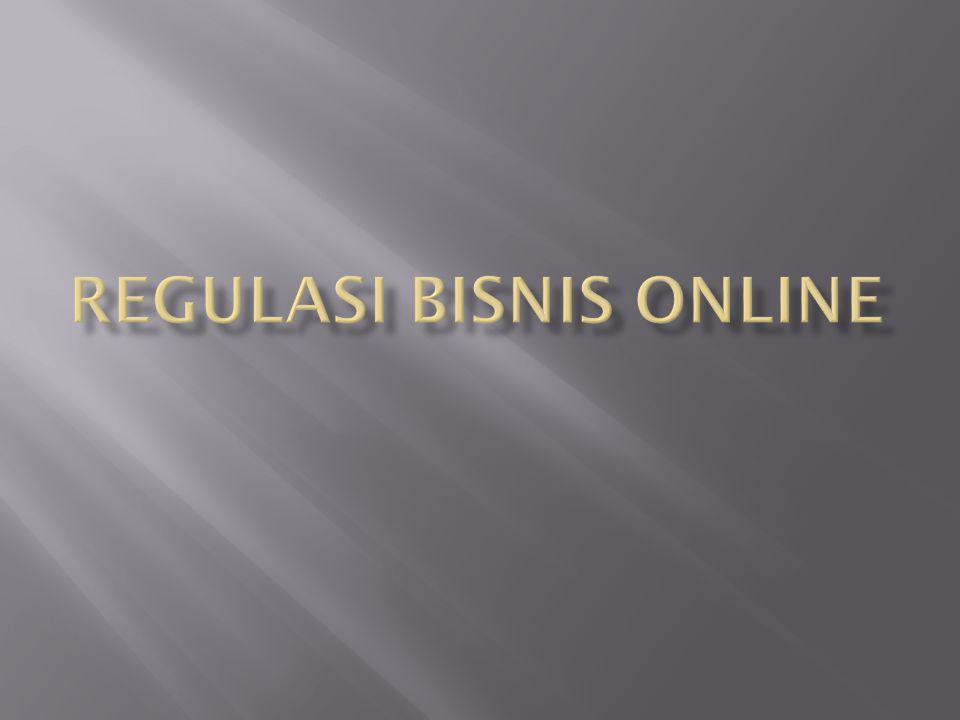 Regulasi bisnis Online