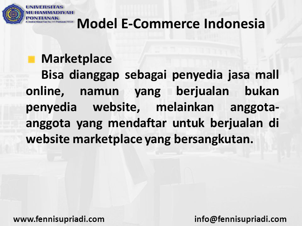 Model E-Commerce Indonesia