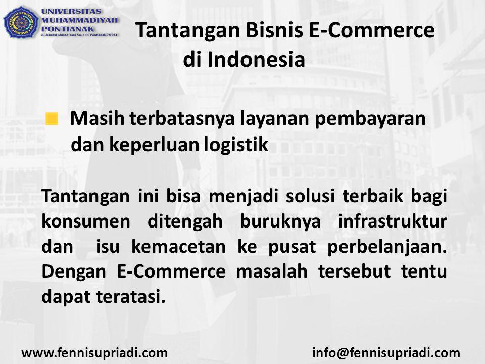 Tantangan Bisnis E-Commerce di Indonesia
