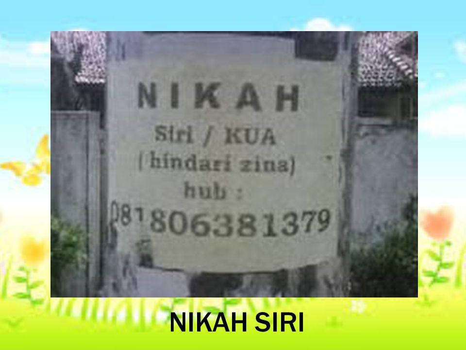 NIKAH SIRI