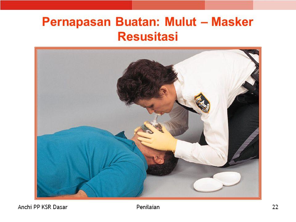 Pernapasan Buatan: Mulut – Masker Resusitasi