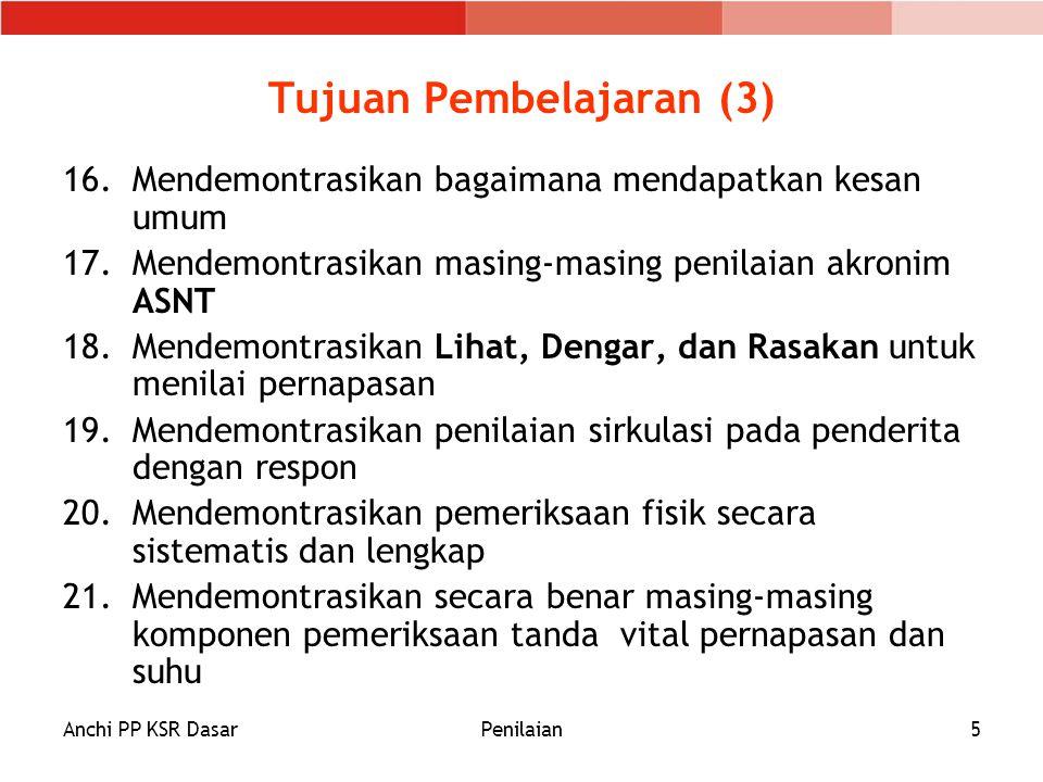 Tujuan Pembelajaran (3)