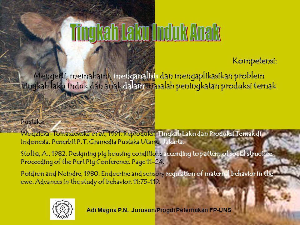Adi Magna P.N. Jurusan/Progdi Peternakan FP-UNS