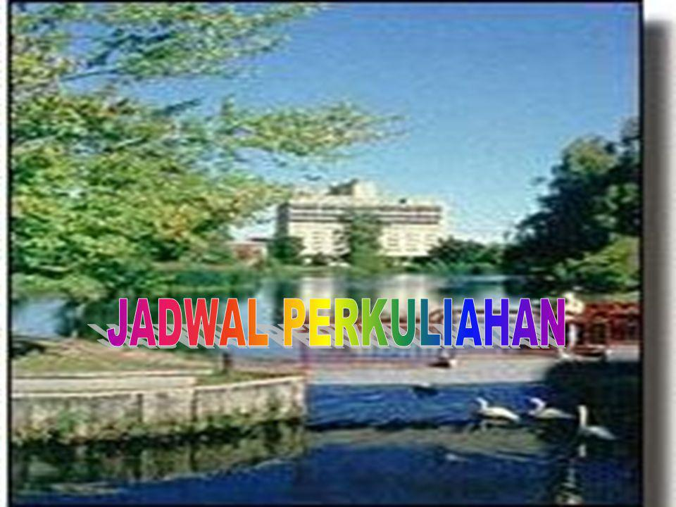 JADWAL PERKULIAHAN