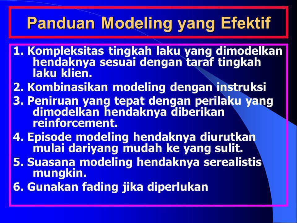 Panduan Modeling yang Efektif