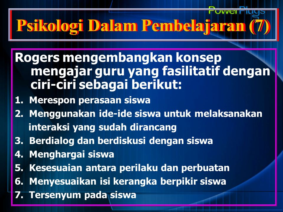 Psikologi Dalam Pembelajaran (7)
