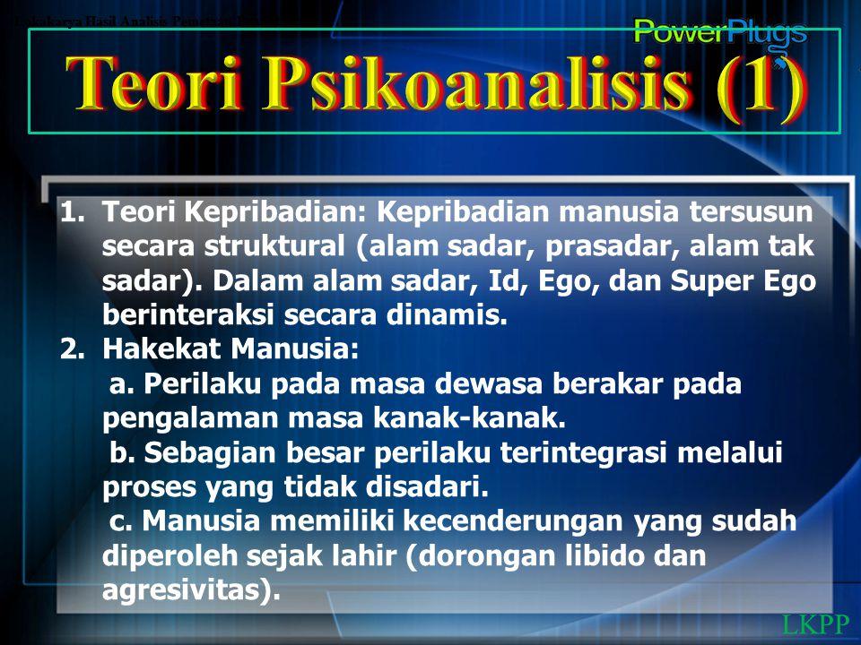 Teori Psikoanalisis (1)