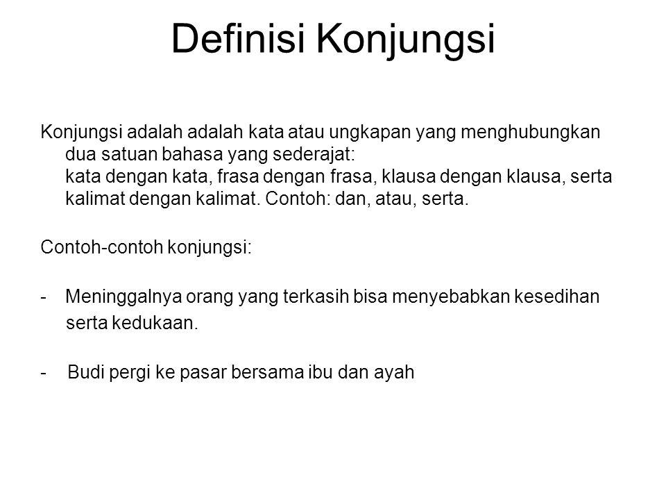 Definisi Konjungsi