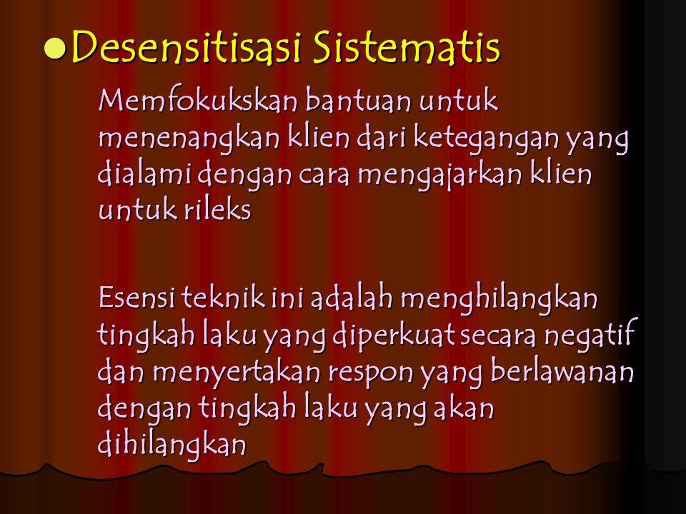 Desensitisasi Sistematis