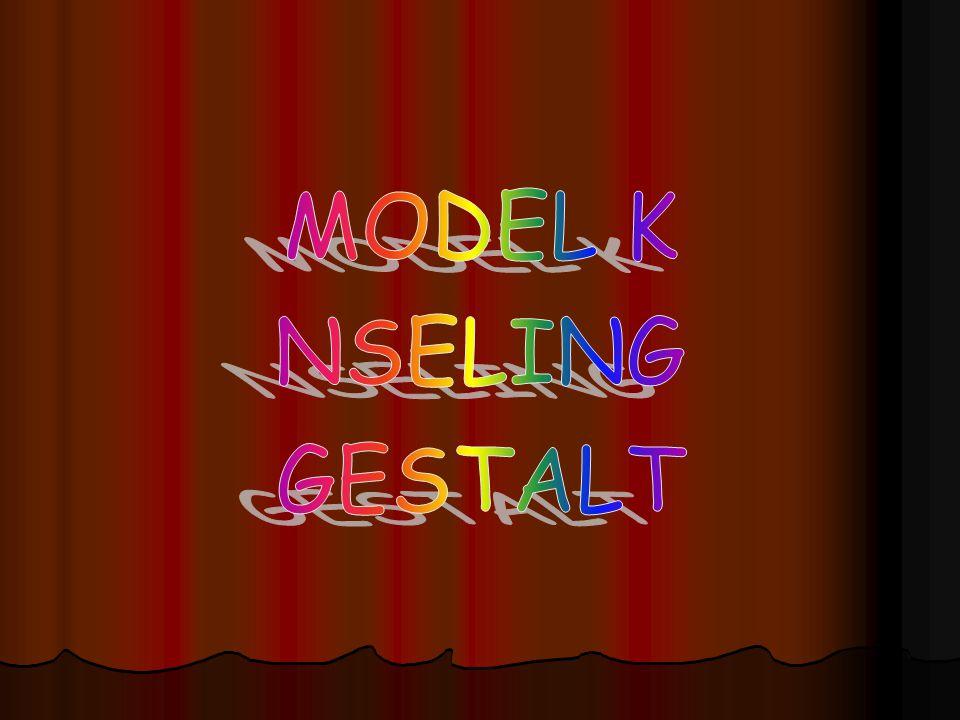 MODEL K NSELING GESTALT