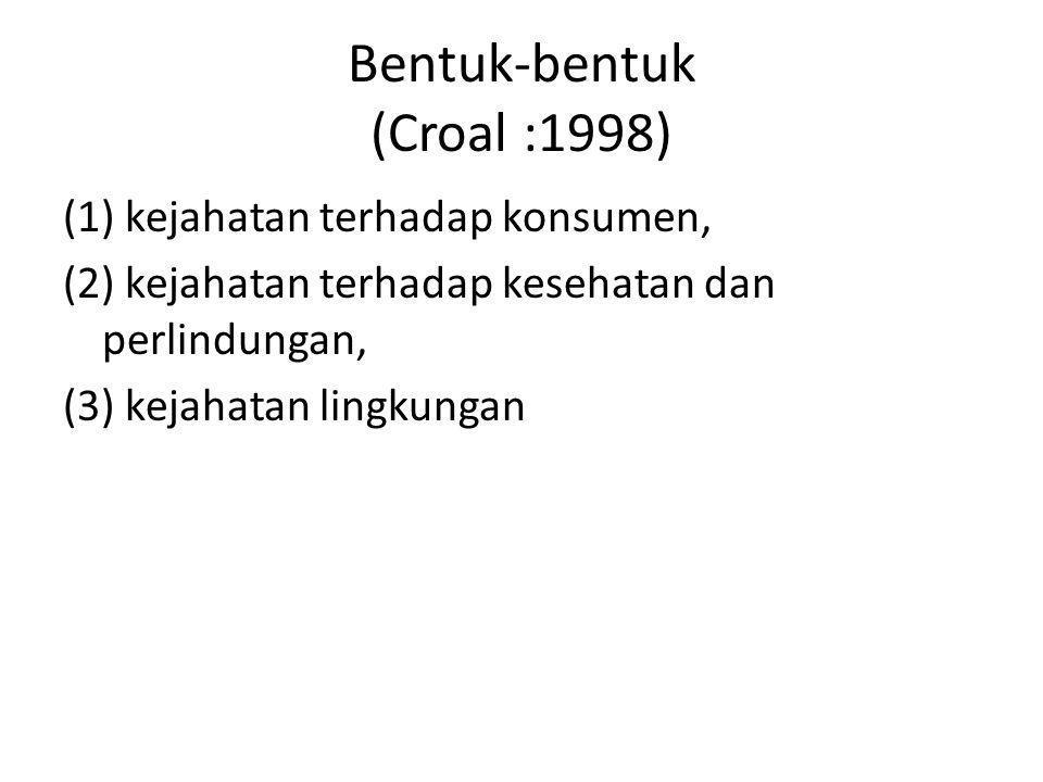 Bentuk-bentuk (Croal :1998)