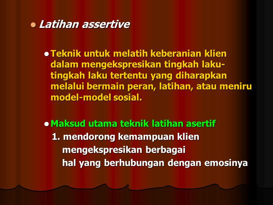 Latihan assertive