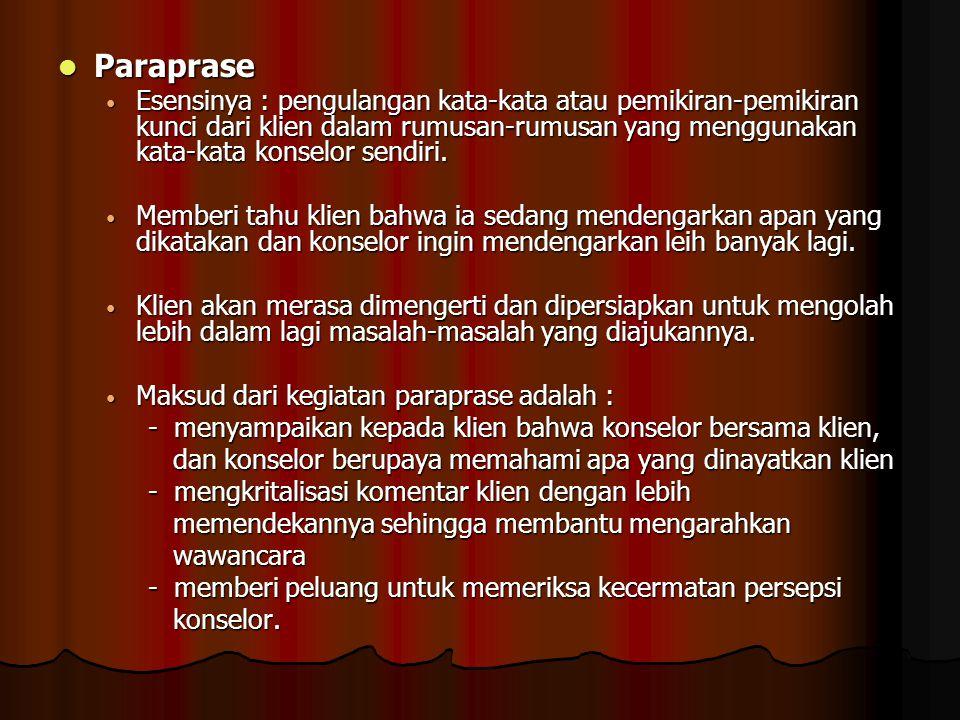 Paraprase