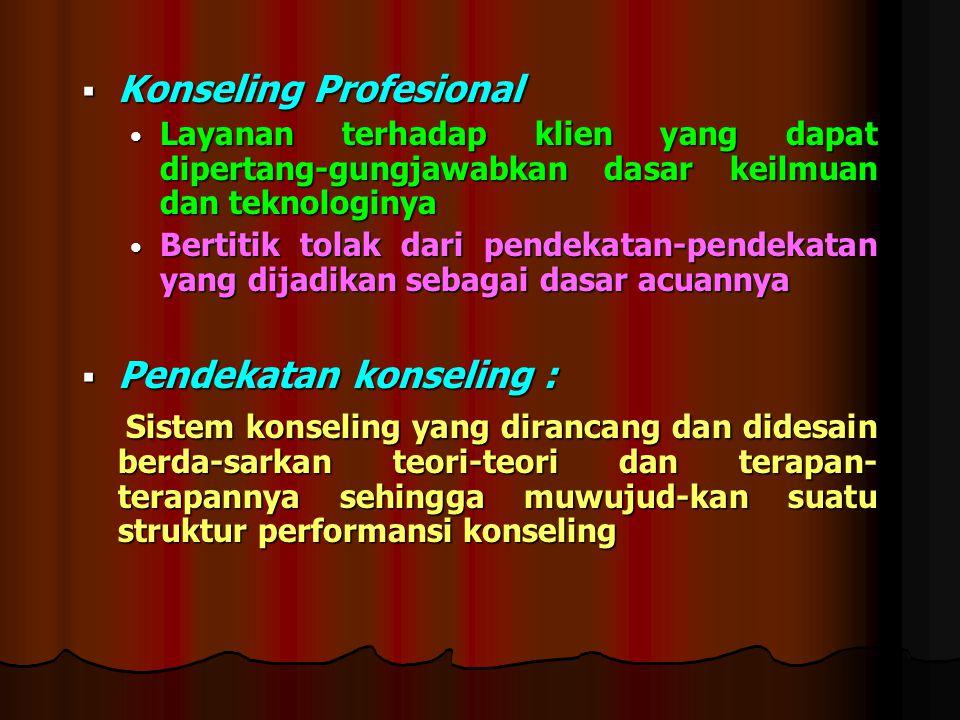 Konseling Profesional