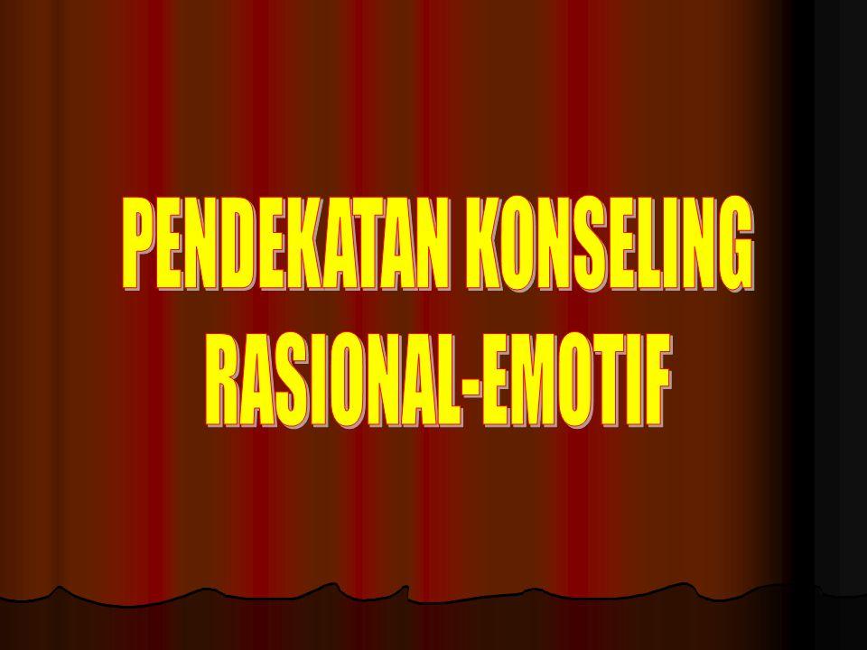 PENDEKATAN KONSELING RASIONAL-EMOTIF
