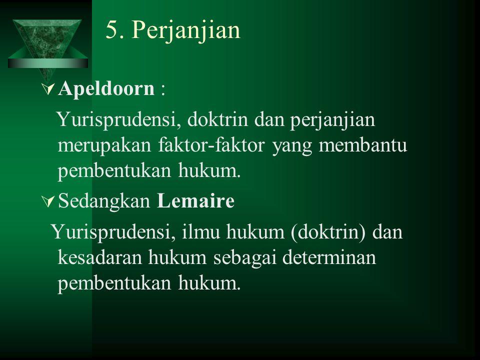 5. Perjanjian Apeldoorn :
