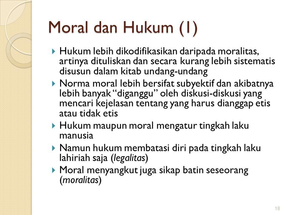 Moral dan Hukum (1)