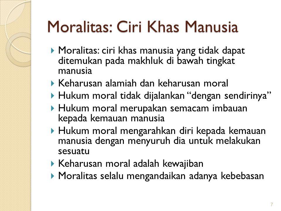 Moralitas: Ciri Khas Manusia