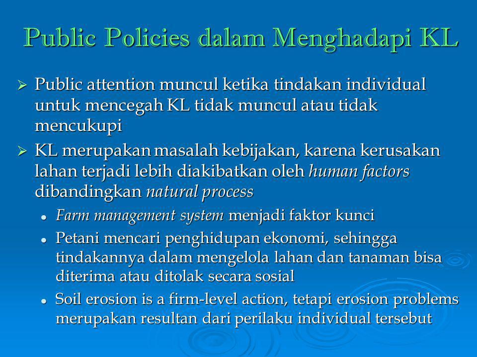Public Policies dalam Menghadapi KL