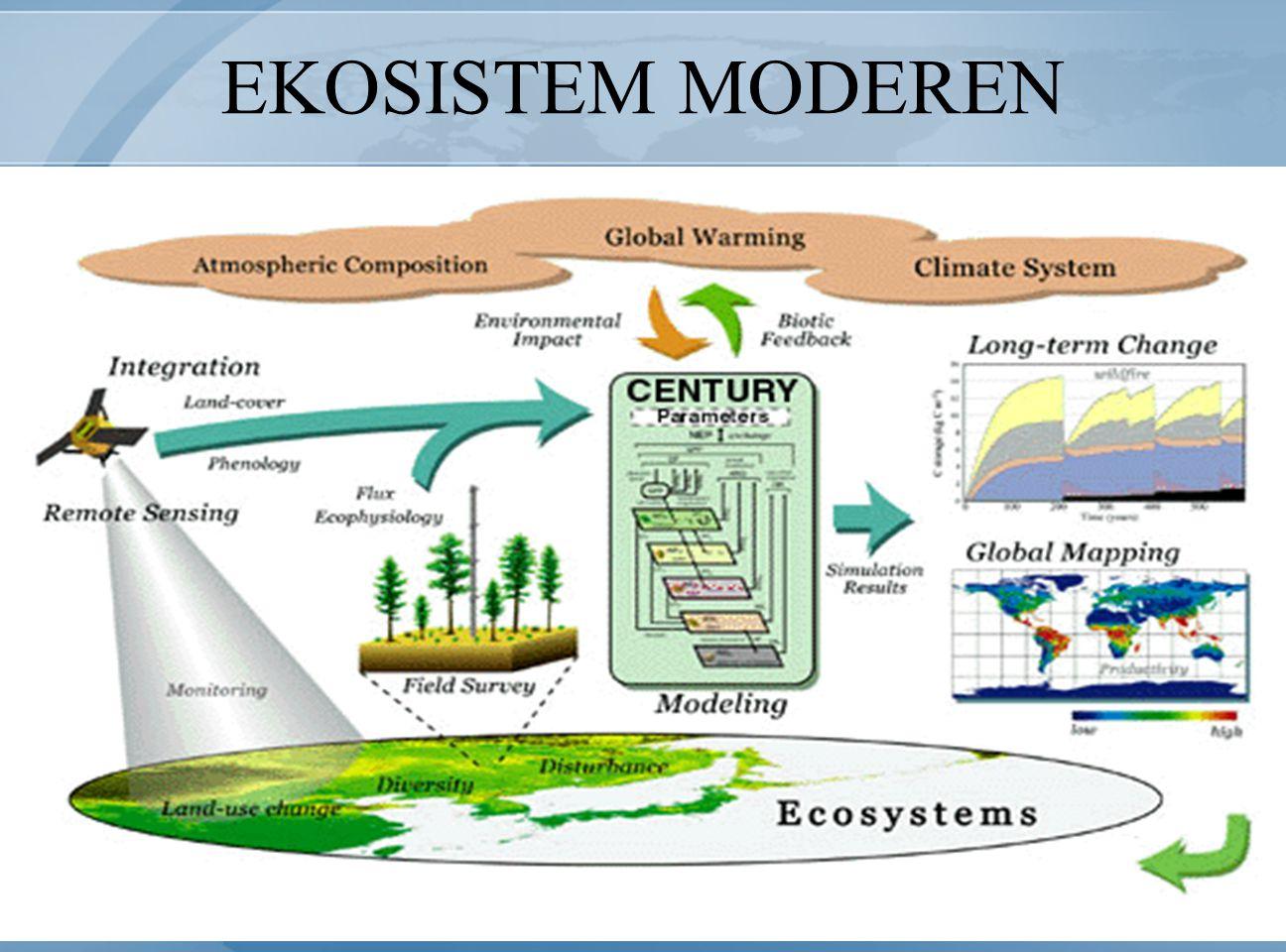 EKOSISTEM MODEREN