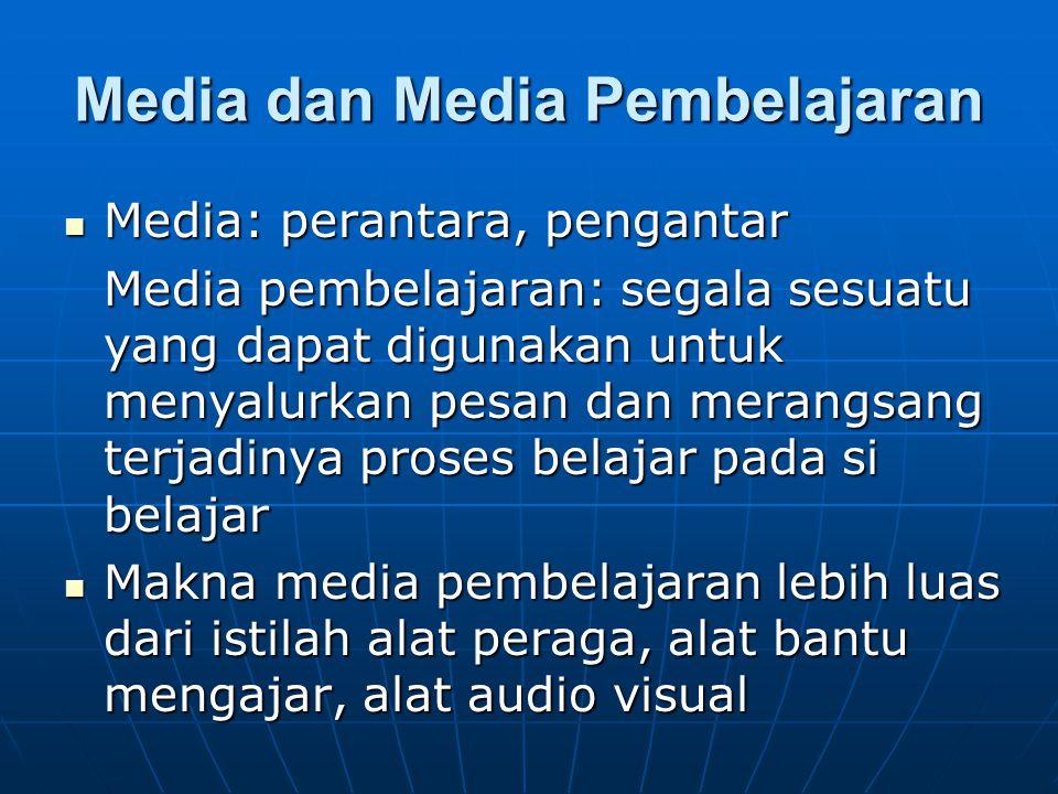 Media dan Media Pembelajaran