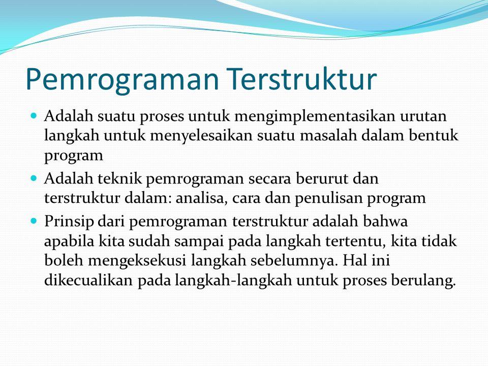 Pemrograman Terstruktur