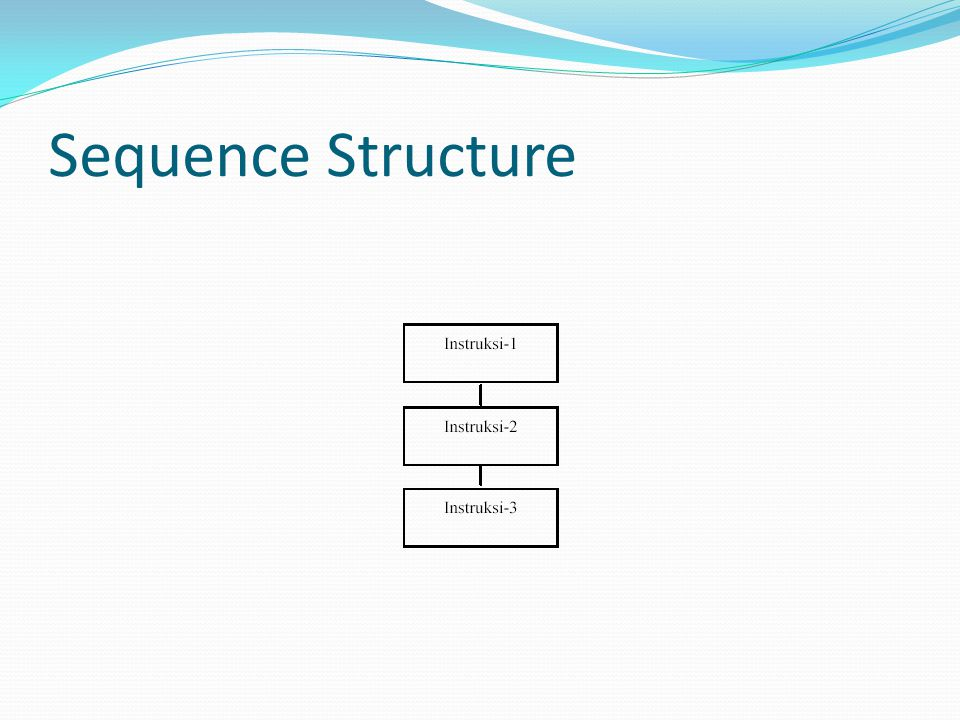 Sequence Structure