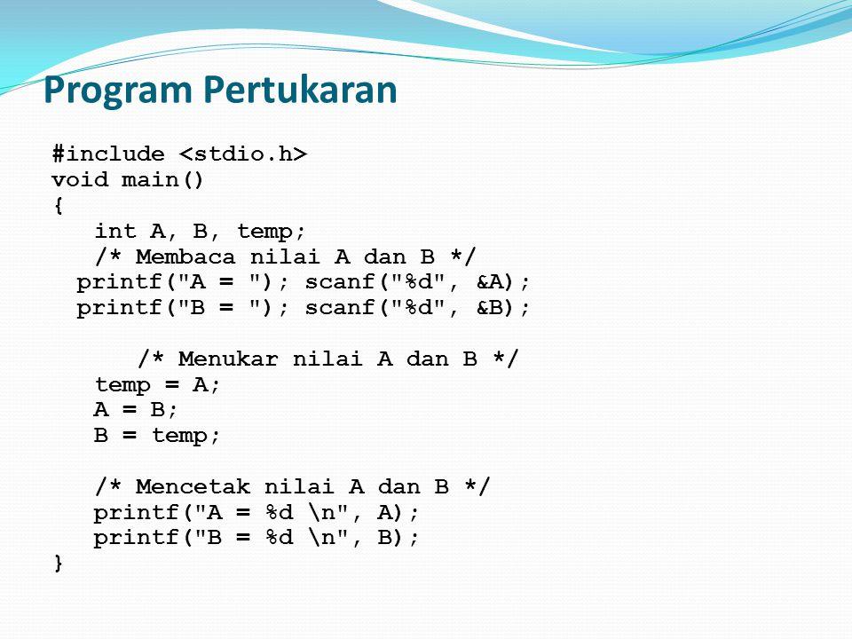 Program Pertukaran