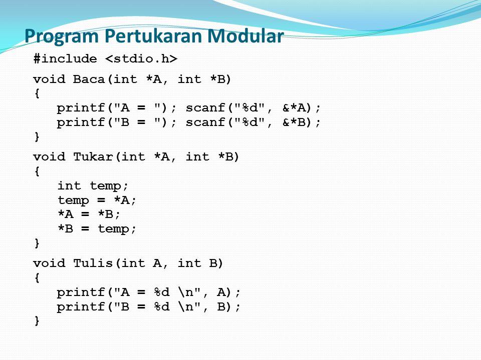 Program Pertukaran Modular