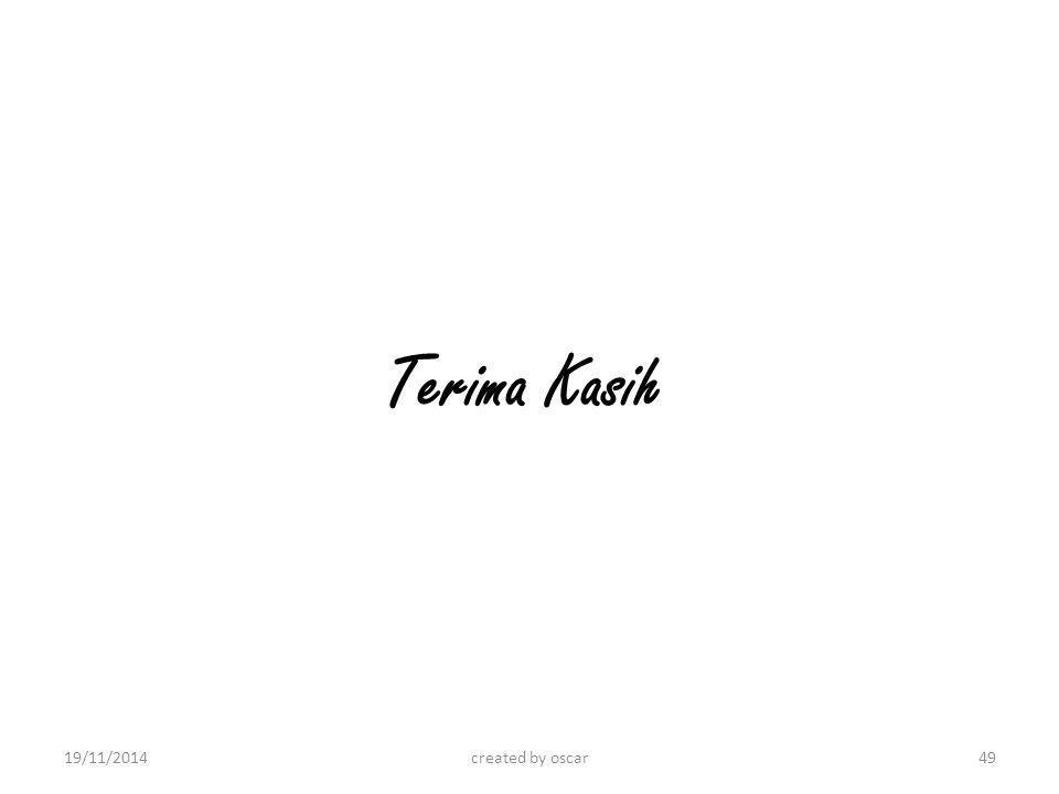 Terima Kasih 07/04/2017 created by oscar