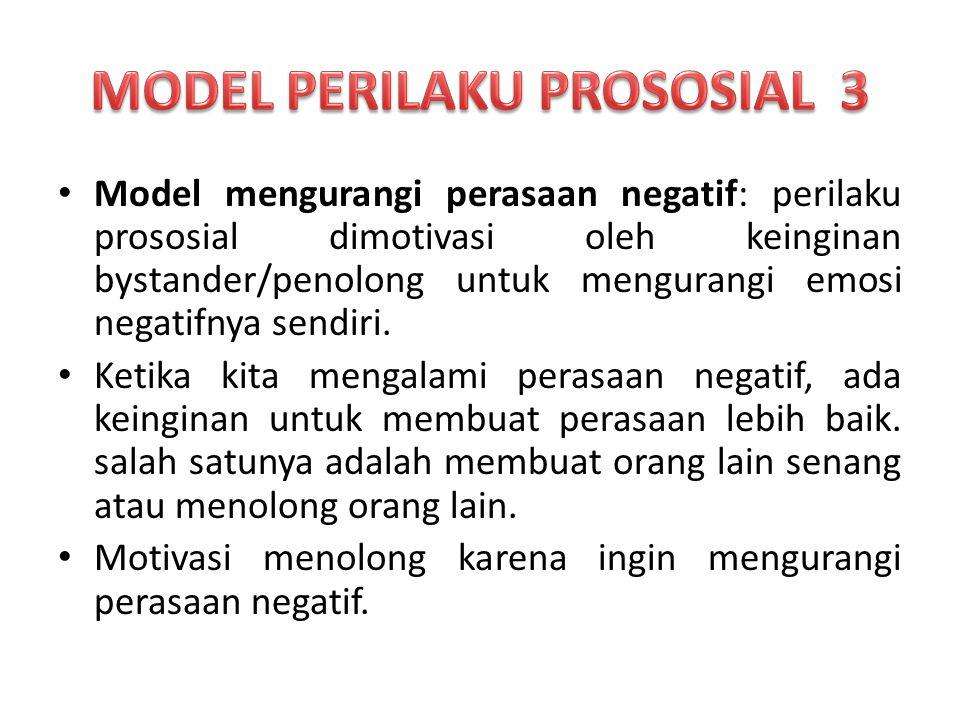 MODEL PERILAKU PROSOSIAL 3