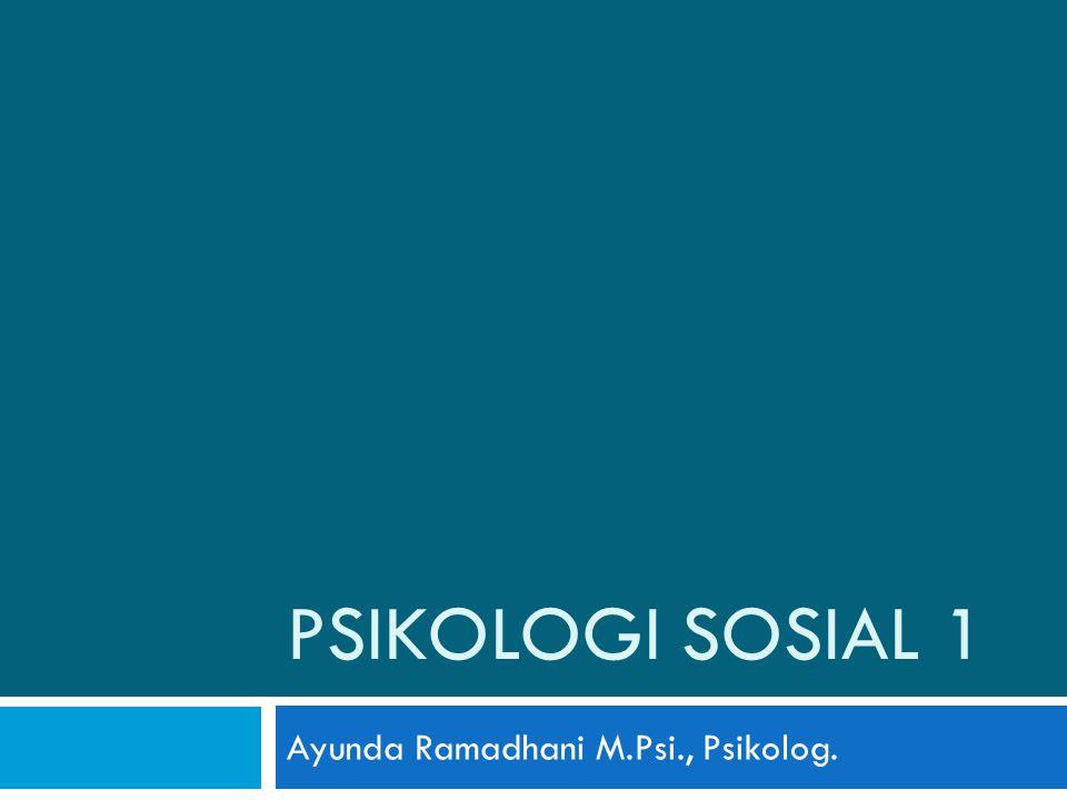 Ayunda Ramadhani M.Psi., Psikolog.