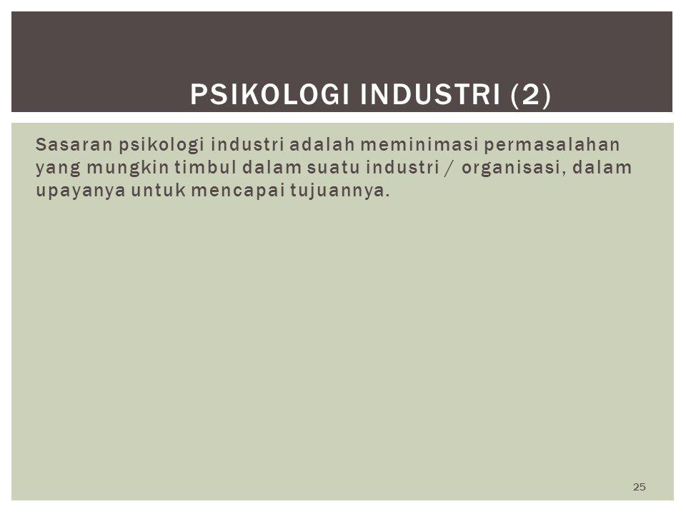 Psikologi Industri (2)