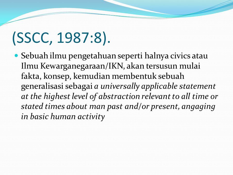 (SSCC, 1987:8).