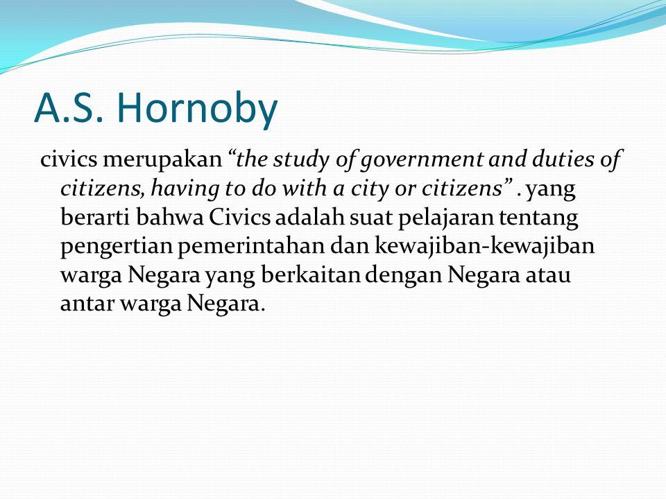 A.S. Hornoby