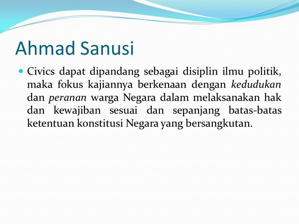 Ahmad Sanusi