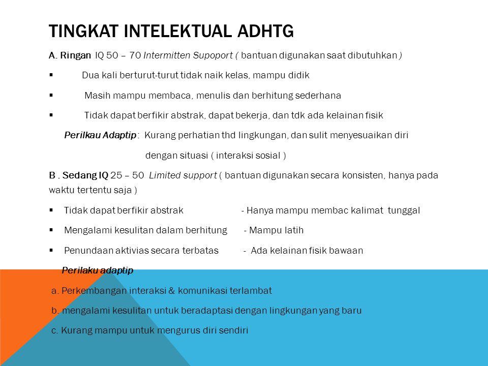 Tingkat intelektual adhtg
