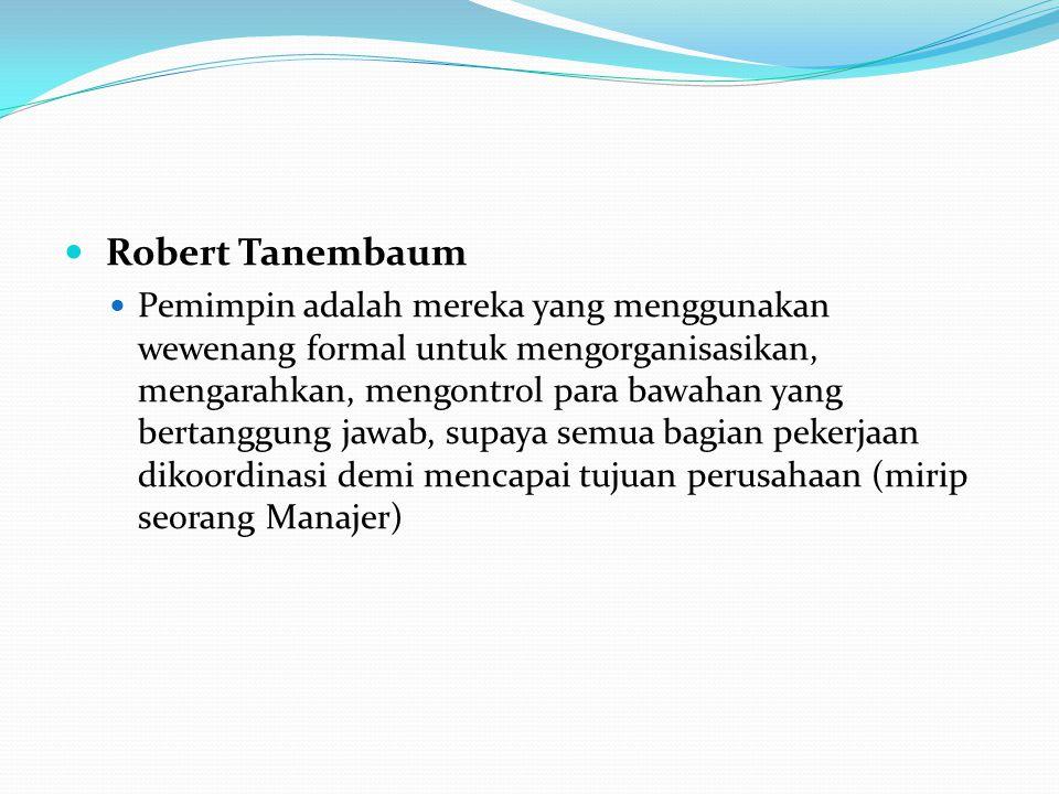 Robert Tanembaum