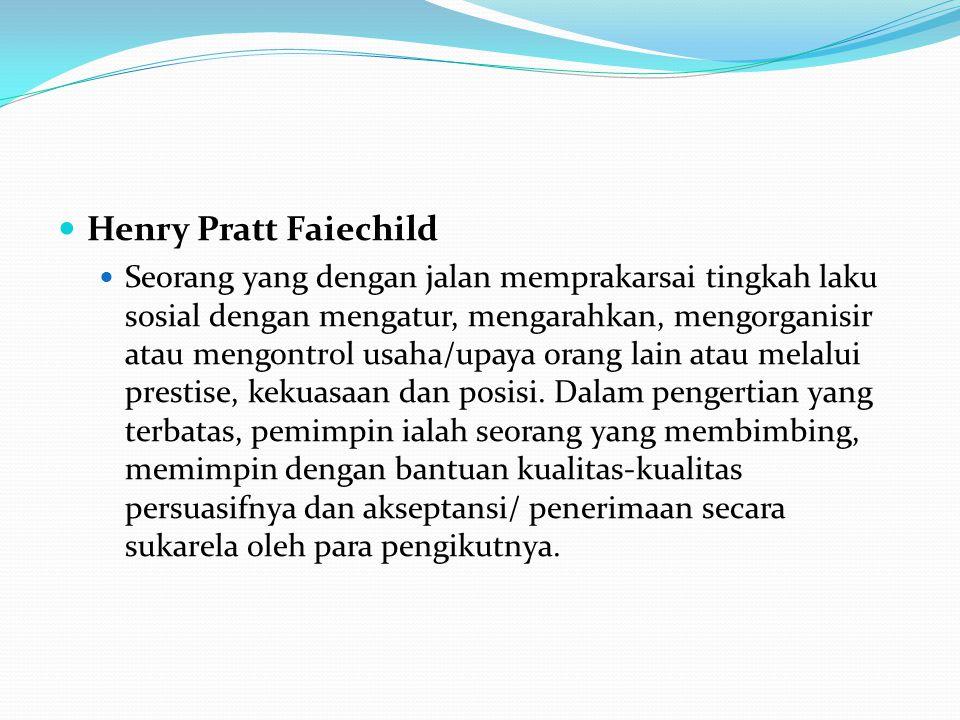 Henry Pratt Faiechild