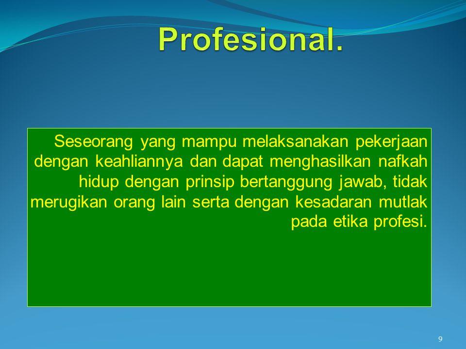Profesional.
