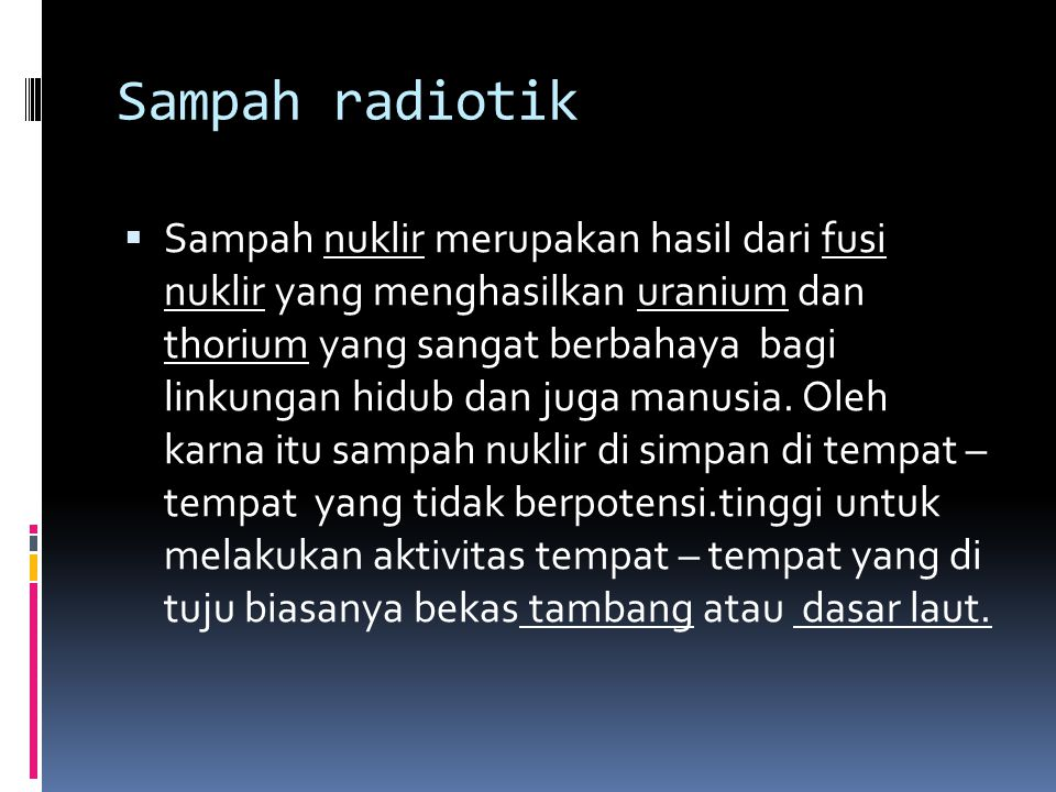 Sampah radiotik