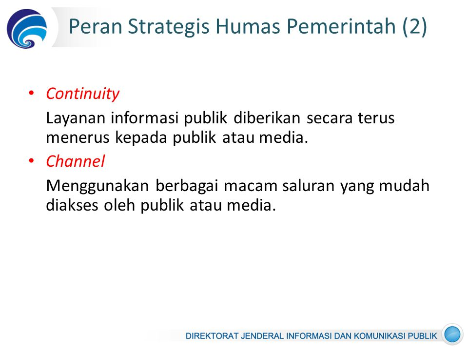 Peran Strategis Humas Pemerintah (2)