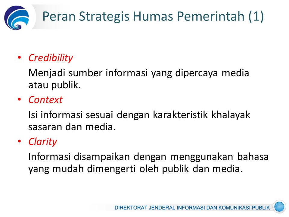 Peran Strategis Humas Pemerintah (1)