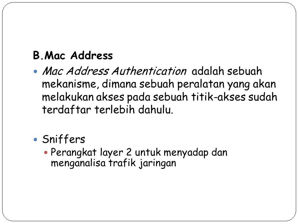 B.Mac Address