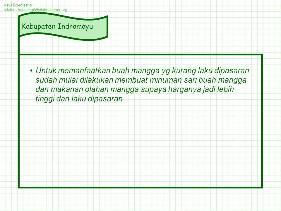 Kawi Boedisetio telebiro.bandung0@clubmember.org. Kabupaten Indramayu.