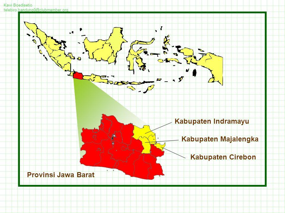 Kabupaten Indramayu Kabupaten Majalengka Kabupaten Cirebon