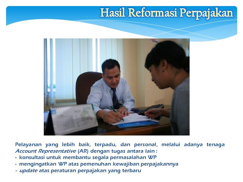 Hasil Reformasi Perpajakan