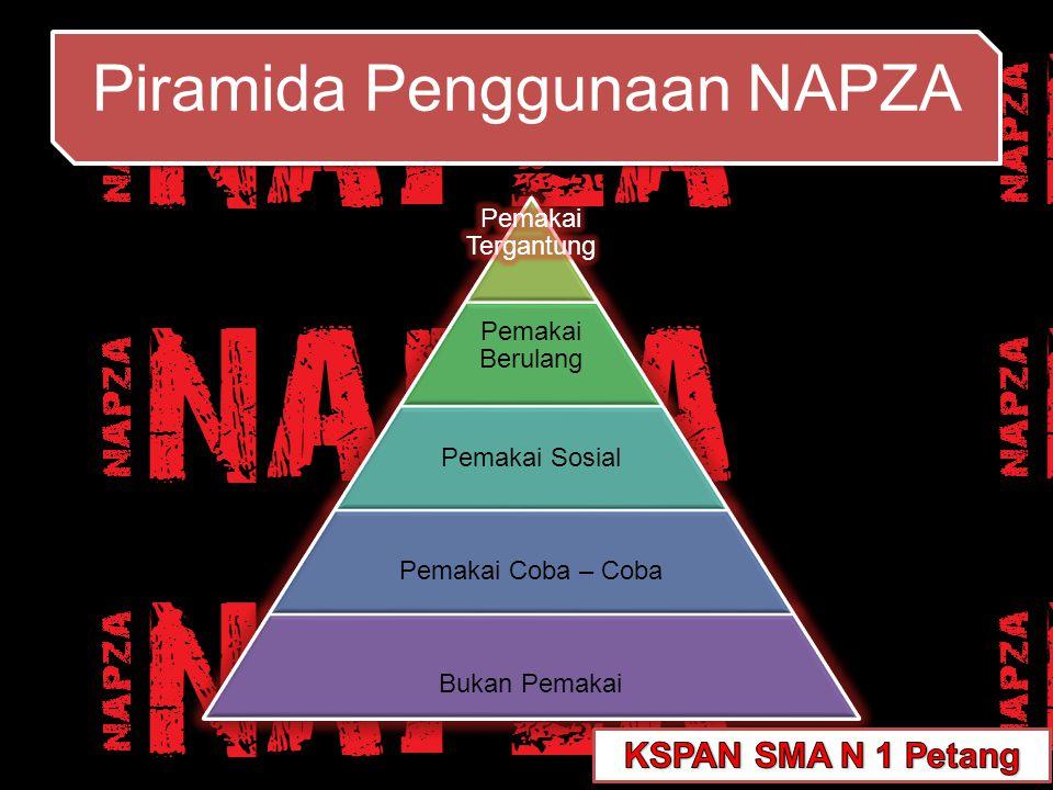 Piramida Penggunaan NAPZA