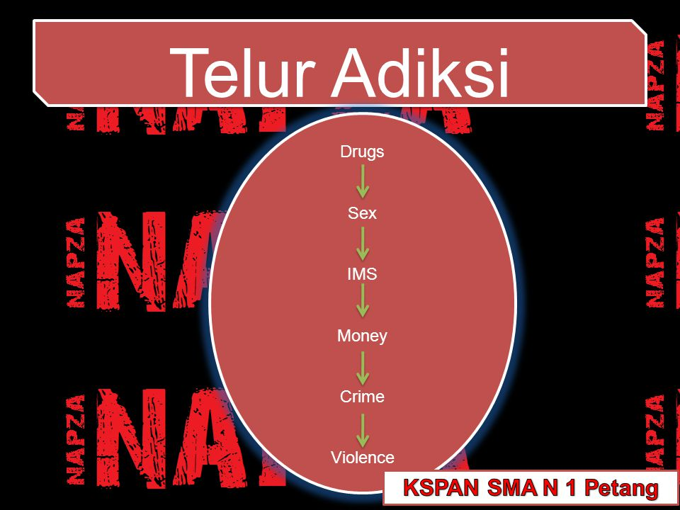 Telur Adiksi Drugs Sex IMS Money Crime Violence KSPAN SMA N 1 Petang